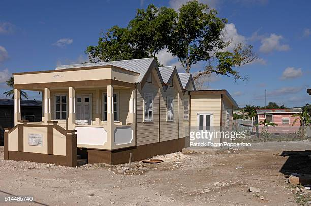 The house where West Indies player Sir Frank Worrell was born just outside the Empire Cricket Club Bank Hall Barbados 27th April 2007 Former members...