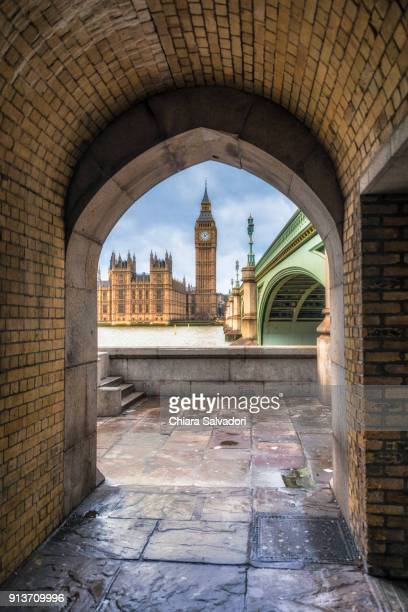 The Houses of Parliament and the Westminster Bridge