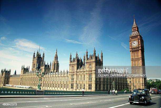 the houses of parliament & big ben - british culture stock pictures, royalty-free photos & images