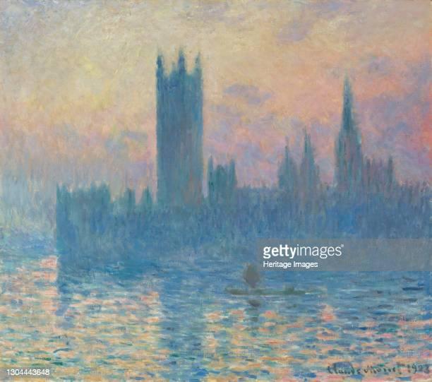 The Houses of Parliament, Sunset, 1903. Artist Claude Monet.
