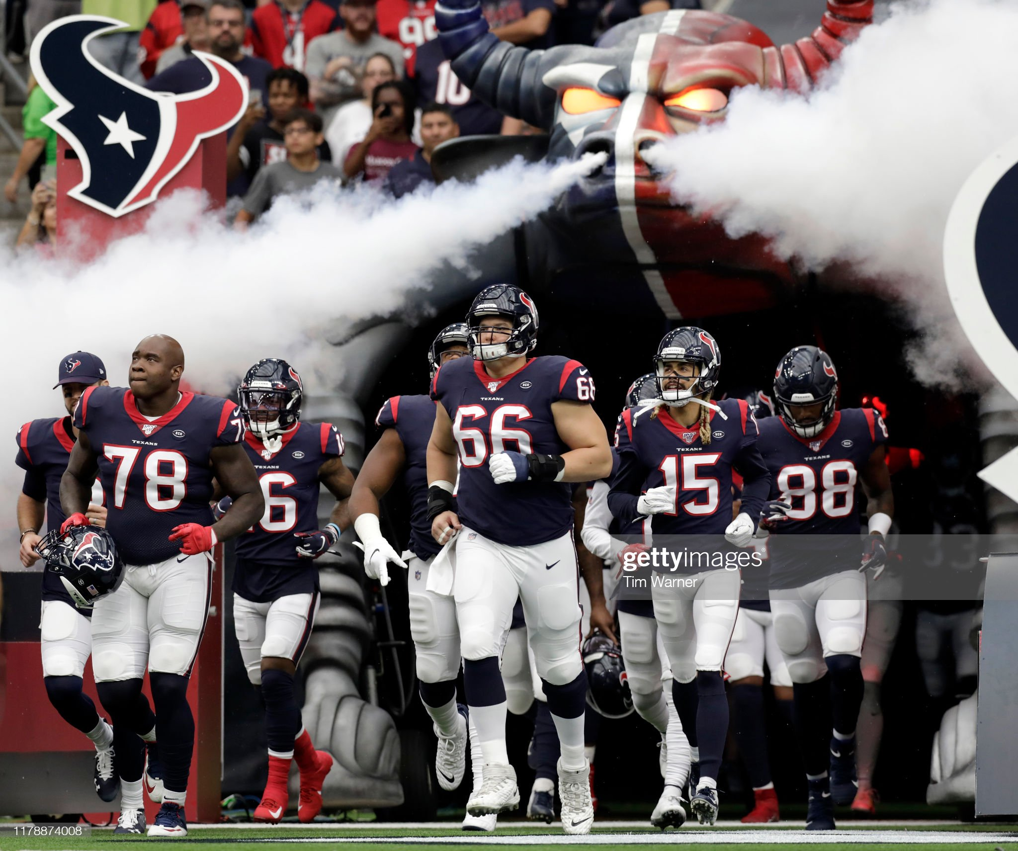 Carolina Panthers v Houston Texans : News Photo
