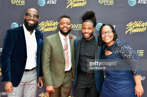 The Howard Gospel Choir arrives at the 32nd annual Stellar Gospel Music Awards at the Orleans Arena on March 25, 2017 in Las Vegas, Nevada.