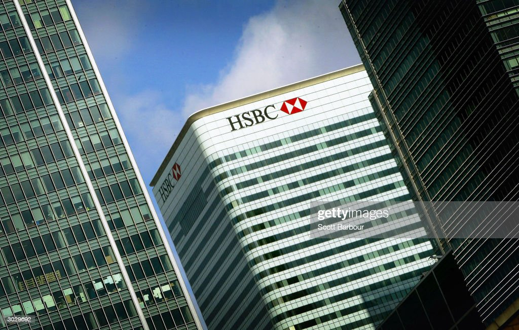 The HSBC building is seen at Canary Wharf March 1, 2004 in London, England. The London-based bank, which operates in 79 countries, gave an upbeat tone for the global economy, including its key Hong Kong market by reporting a record annual pre-tax profit of ?7.7bn (US$14.4).