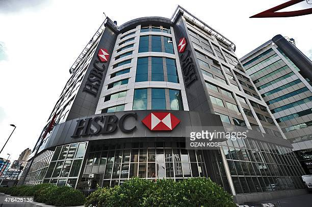 The HSBC headquarters in Istanbul are pictured on June 9 2015 Scandalhit bank HSBC said on June 9 it would cut its global headcount by up to 50000 as...