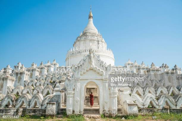 The Hsinbyume pagoda also known this place is the Taj Mahal of Myanmar.