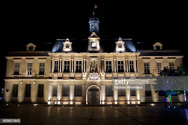 CONTENT] The Hôtel de Ville in Place du Maréchal Foch in city of Troyes in the Champagne region of France