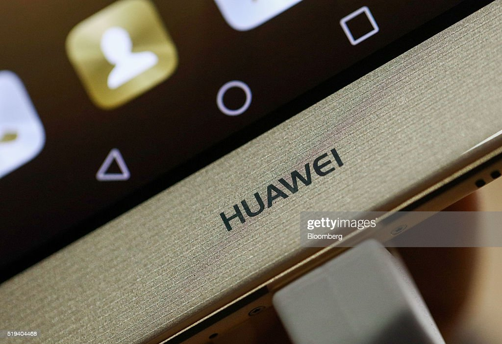Huawei Technologies Co. Consumer Devices Division Chief Executive Officer Richard Yu Speaks At A Launch Event : News Photo