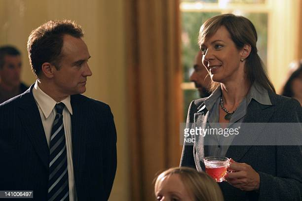 WING The Hubbert Peak Episode 5 Aired Pictured Bradley Whitford as Josh Lyman Allison Janney as Claudia Jean 'CJ' Cregg Photo by Mike Ansell/NBCU...