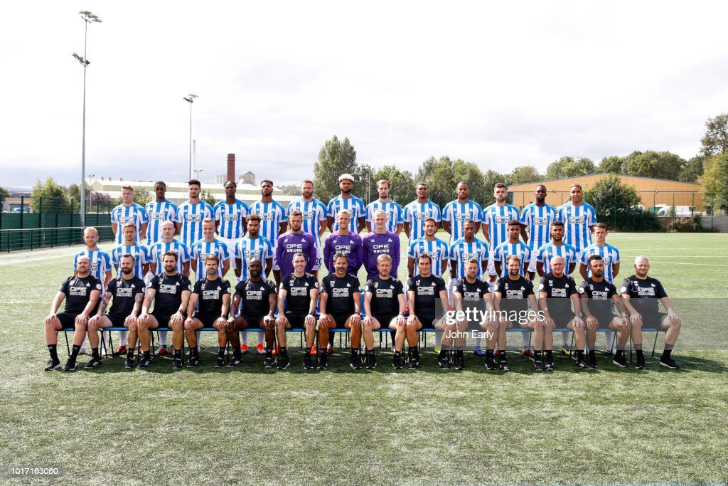 Huddersfield Town Team Group Shoot