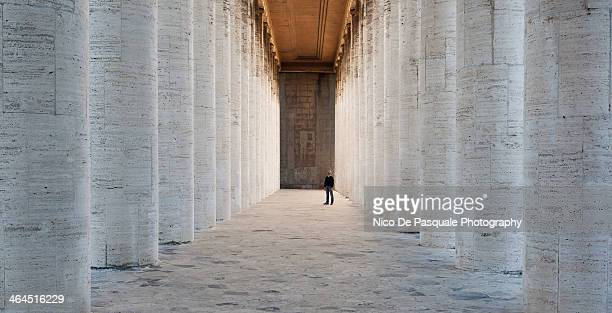 the huge collonade - ancient civilization stock pictures, royalty-free photos & images