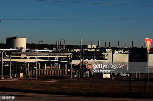 The huge General Motors auto factory is seen October 30 2008 in Moraine a suburb of Dayton Ohio The tiny town of Moraine is bracing as General Motors...