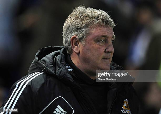 The Hull City manager Steve Bruce before the npower Championship match between Brighton Hove Albion and Hull City at Amex Stadium on February 9 2013...