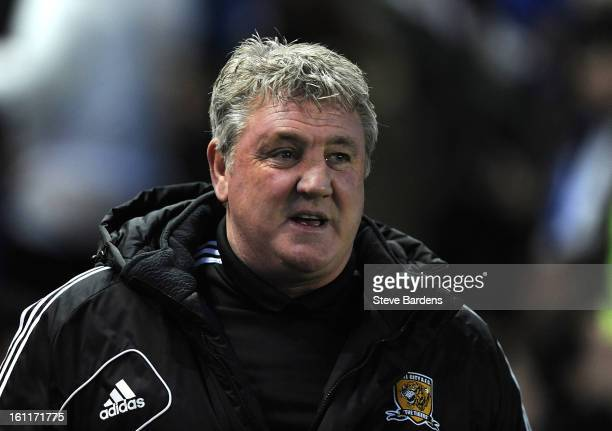 The Hull City manager Steve Bruce during the npower Championship match between Brighton Hove Albion and Hull City at Amex Stadium on February 9 2013...