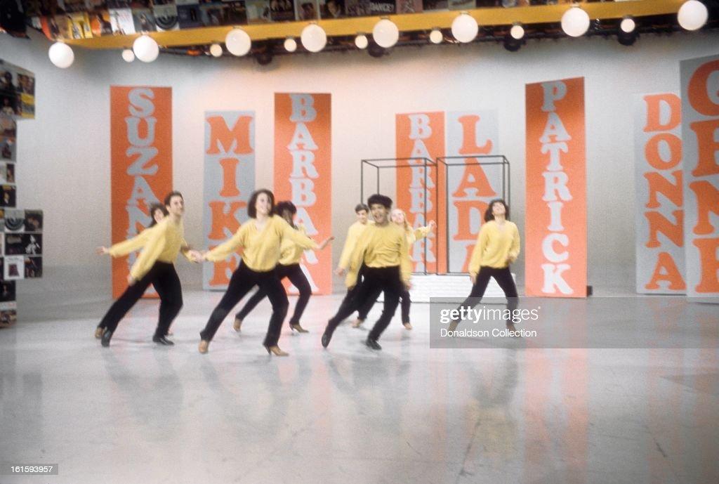 the hullabaloo dancers perform on the nbc tv music show hullabaloo