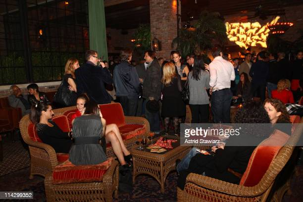 The Humane Society of the United States & The Art Institute's Fifth Annual Cool vs. Cruel Awards Ceremomy at The Bowery Hotel on November 11, 2009 in...