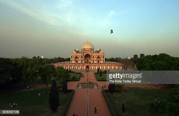 The Humayun's Tomb a UNESCO World Heritage Site one of three in Delhi has finally got a gold crown in New Delhi
