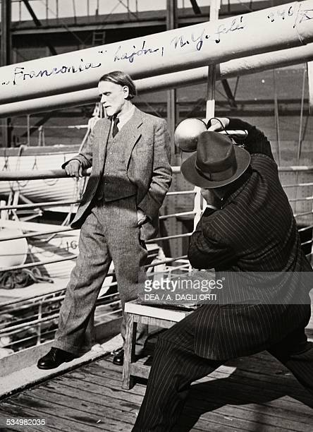 The Hungarian composer Zoltan Kodaly en route to the United States 1946 20th century Budapest Kodaly Zoltan Emlekmuzeum