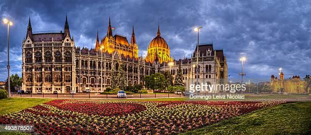 The Hungarian Parliament, Budapest, Hungary