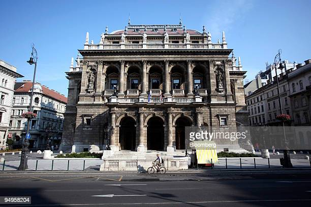 The Hungarian State Opera House sits in Budapest, Hungary, on Sunday, June 28, 2009. Hungary's economic sentiment index rose in June to the highest...