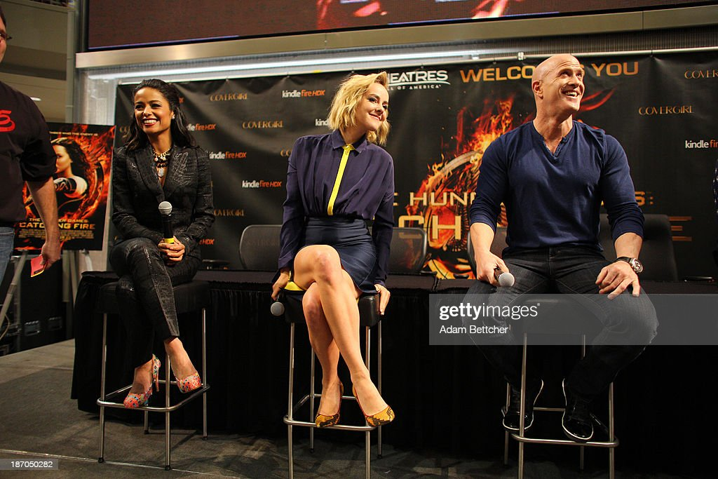 The Hunger Games Catching Fire Cast Members Jena Malone Meta