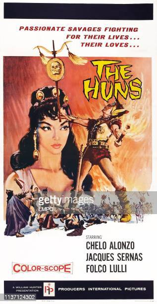 The Huns poster poster art left Chelo Alonzo 1960