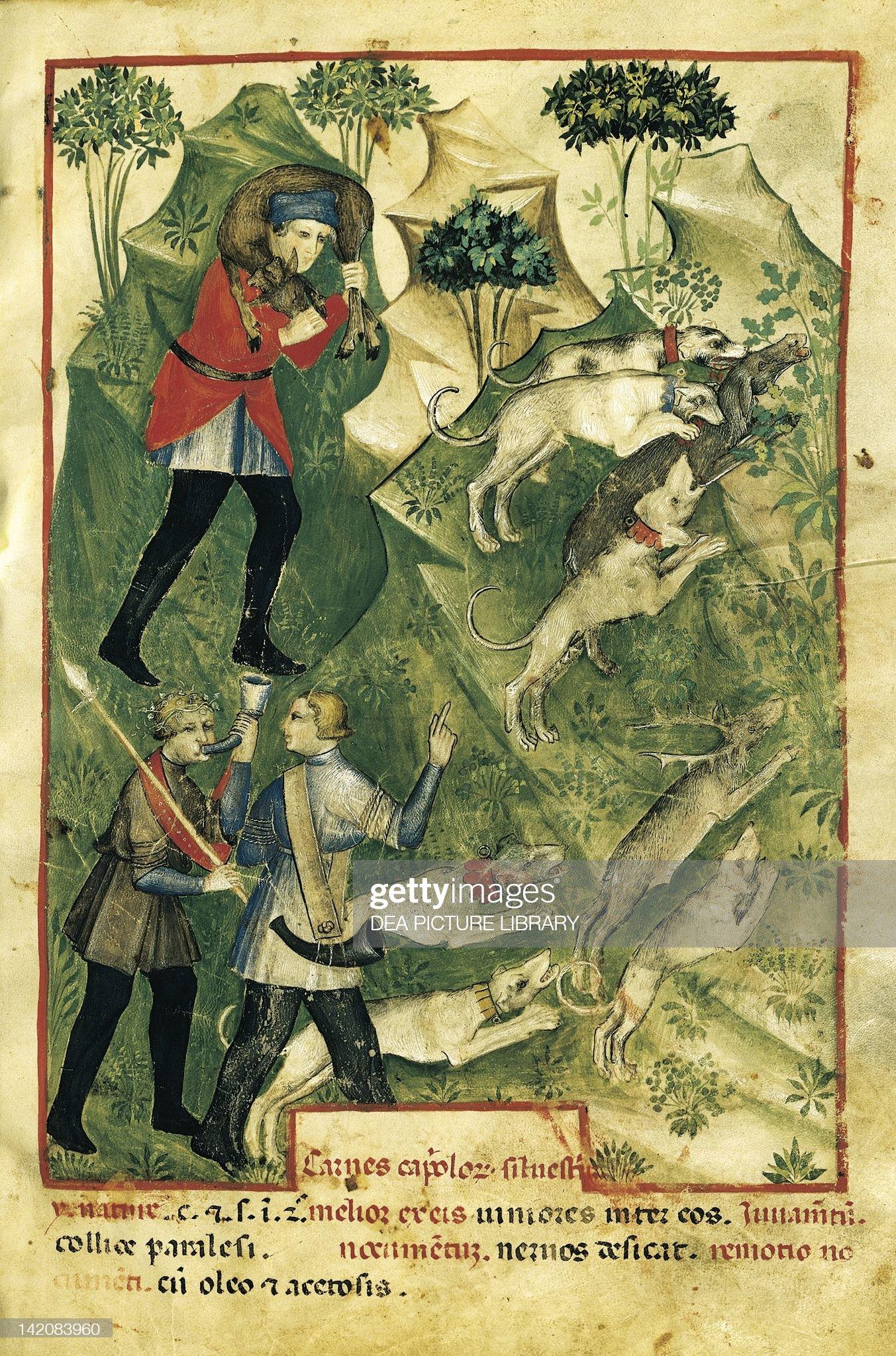 The hunt, by Giovannino de Grassi : Foto di attualità
