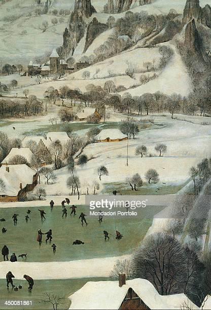 The Hunters in the Snow by Pieter Bruegel the Elder 16th Century oil on wood 117 x 162 cm