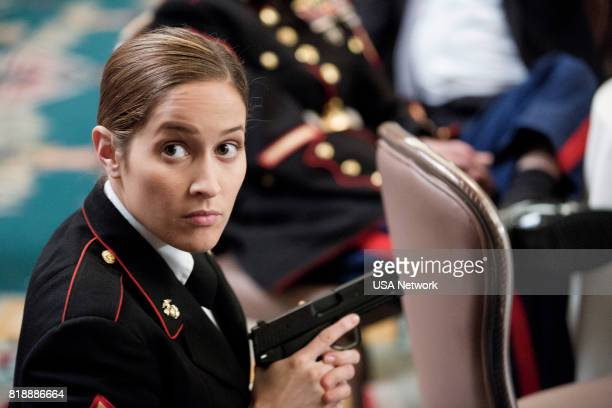 SHOOTER The Hunting Party Episode 201 Pictured Jaina Lee Ortiz as Angela Tio