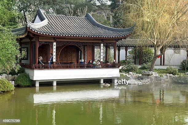 the huntinton library chinese garden - san marino california stock pictures, royalty-free photos & images
