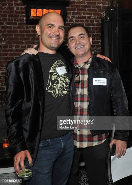 'The Hurricane Heist' screenwriter Jeff Dixon and 'The Amityville Murders' screenwriter and director Daniel Farrands attend WGAW's 'Behind The...