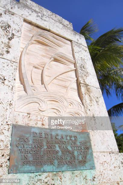 The Hurricane Monument at The Florida Keys Memorial