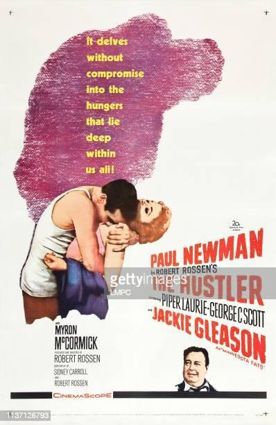 Paul Newman Piper Laurie Jackie Gleason 1961
