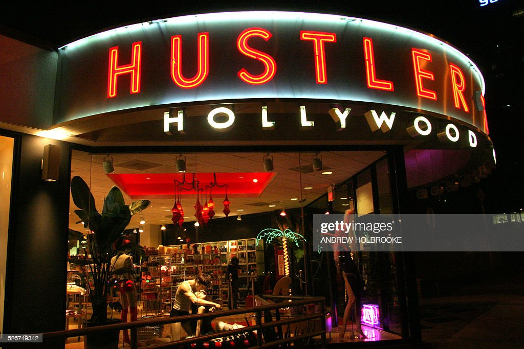 The hustler store on sunset