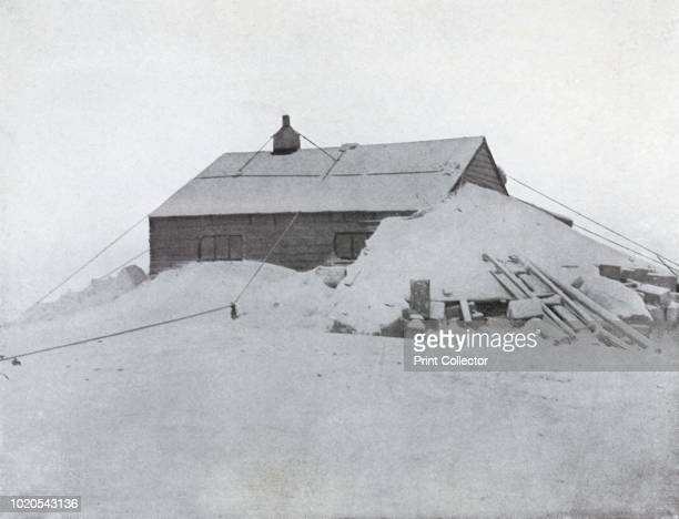 The Hut at Cape Adare' circa 1911 The final expedition of British Antarctic explorer Captain Robert Falcon Scott left London on 1 June 1910 bound for...
