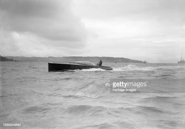 The hydroplane 'Brunhilde' under way 'Brunhilde' was built by S E Saunders on the Isle of Wight for the Duke of Westminster as a successor to the...