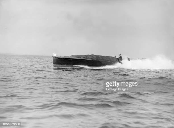 The hydroplane 'Maple Leaf IV' 1913 'Maple Leaf IV' in which TOM Sopwith won back the British International Trophy in 1912 was powered by two Austin...