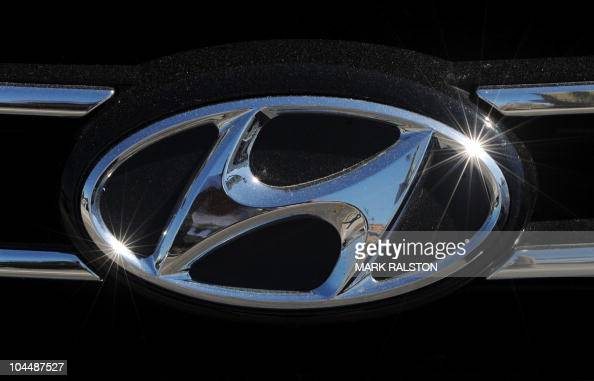 The Hyundai Emblem At A Dealership In Los Angeles On News Photo Getty Images