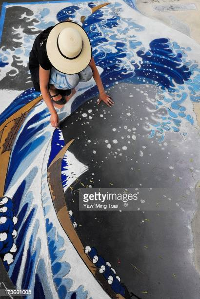 The i Madonnari Festival is a chalk drawing event, it has continued to grow and now is being replicated in dozens of other cities throughout the...