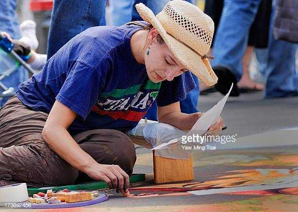 CONTENT] The i Madonnari Festival is a chalk drawing event it has continued to grow and now is being replicated in dozens of other cities throughout...