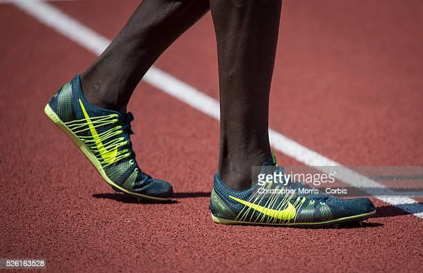The IAAF Diamond League Prefontaine Classic in Eugene Oregon Nike track spikes
