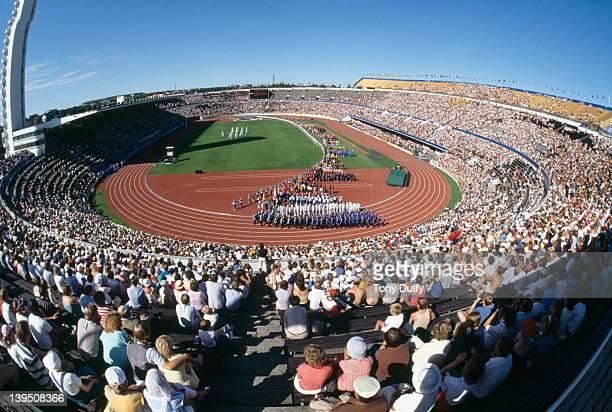 The IAAF World Championships in Athletics in Helsinki, 1983.