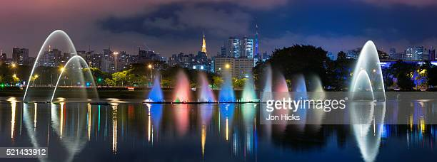 The Ibirapuera Park Fountain, Sao Paulo.