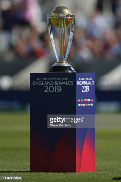 The ICC Cricket World Cup during the opening ceremony prior to the Group Stage match of the ICC Cricket World Cup 2019 between England v South Africa...
