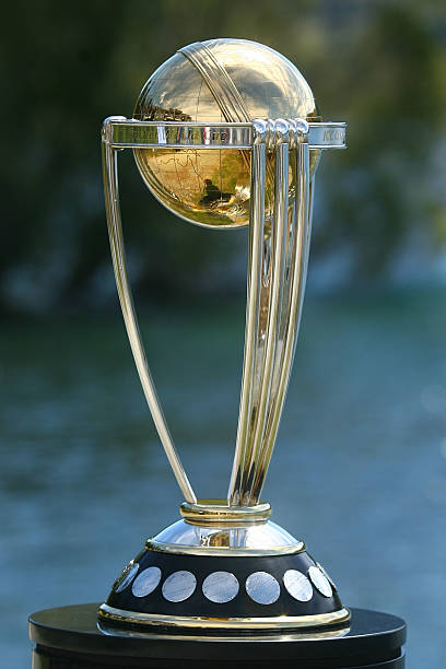 The ICC Cricket World Cup Trophy Is On Display At Queenstown Hilton February 9