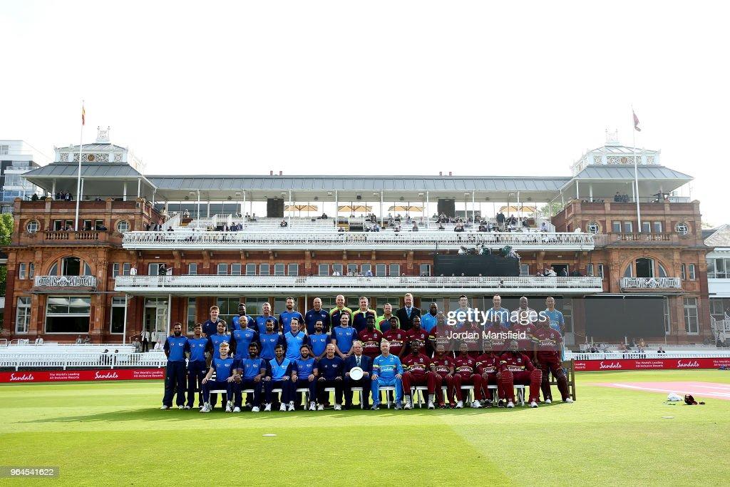 ICC World XI v West Indies - T20 : News Photo