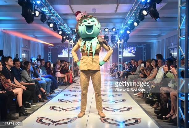 The Ice Cream participates in a runway show for the premiere of Fox's The Masked Singer Season 2 at The Bazaar at the SLS Hotel Beverly Hills on...