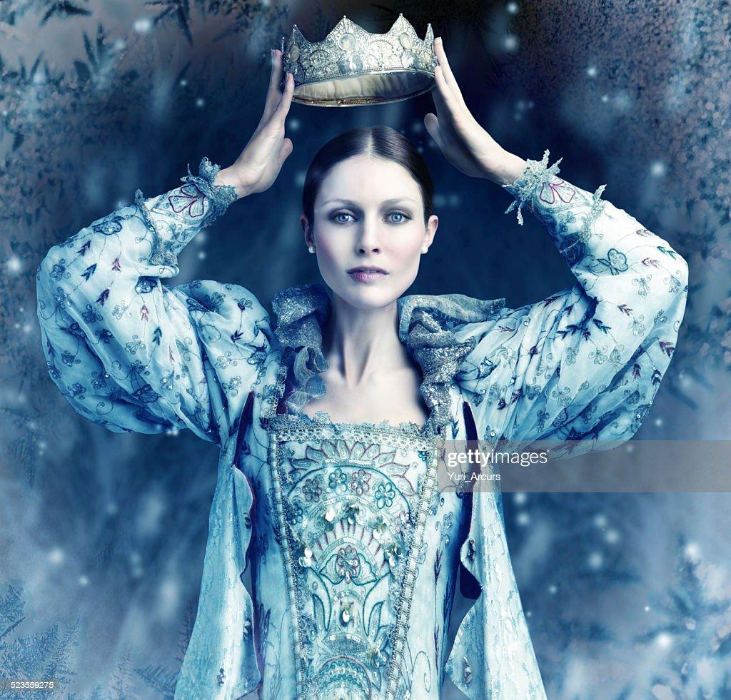 O gelo cometh queen-size : Foto de stock