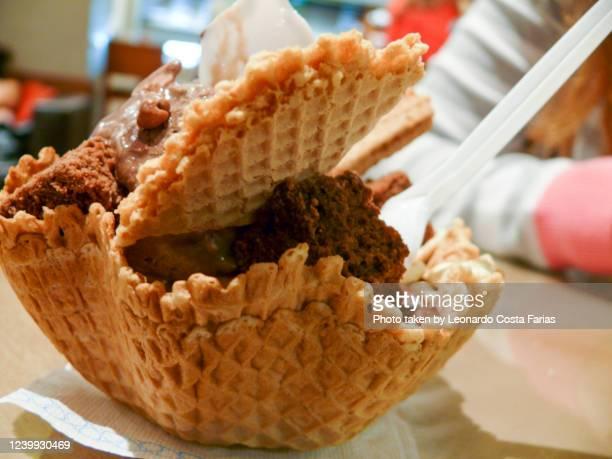 the icecream - leonardo costa farias stock pictures, royalty-free photos & images
