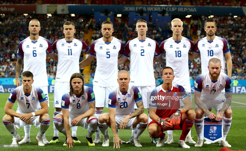 Iceland v Croatia: Group D - 2018 FIFA World Cup Russia : News Photo