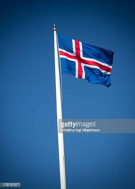 The Icelandic National Flag